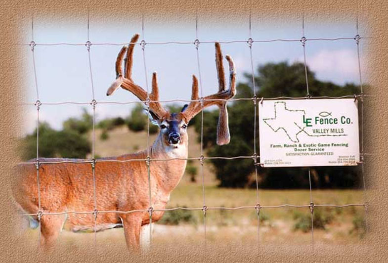 About LE Fence - High Game and Specialty Ranch Fencing